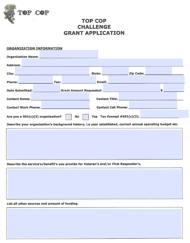 GRANT APPLICATION – Grant Application